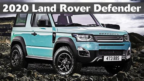 New Land Rover Defender 2020 by 2020 Land Rover Defender Everything We About The