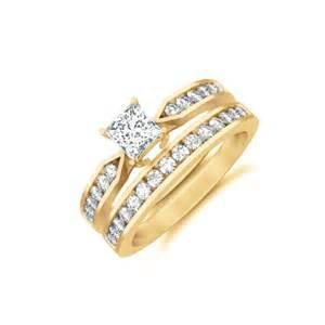 cheap bridal wedding ring sets affordable wedding ring set on jewelocean