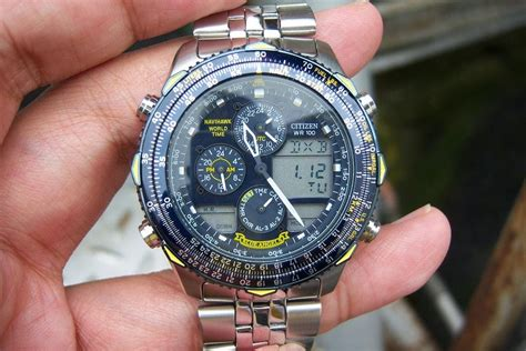 Jam Tangan Citizen Gn 0 S jam tangan for sale citizen promaster navihawk blue sold