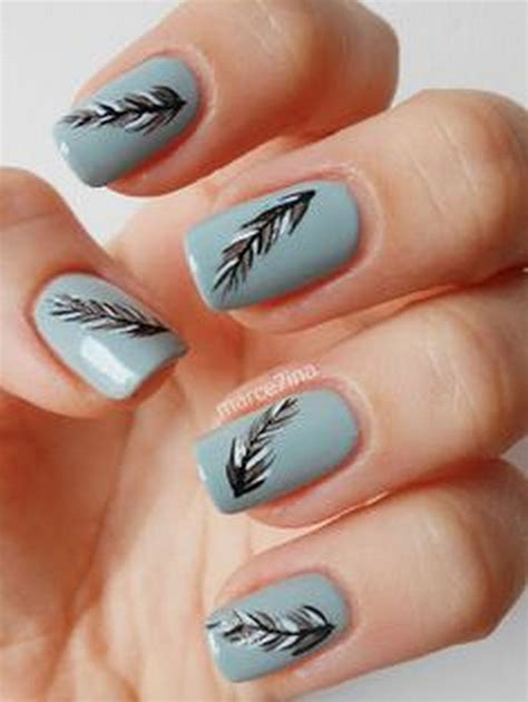 Nail Designs That Look 18 feather nail designs that look amazing