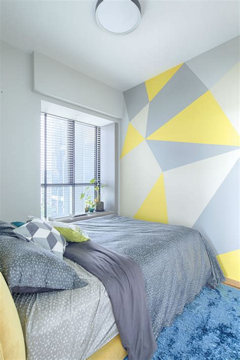 paint idea a great diy paint idea for your walls home decor singapore