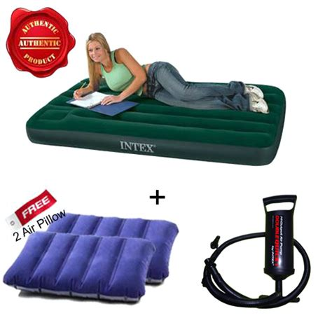 Best Buy Air Mattress by Buy Combo Of Intex Air Mattress Free 2 Pillows