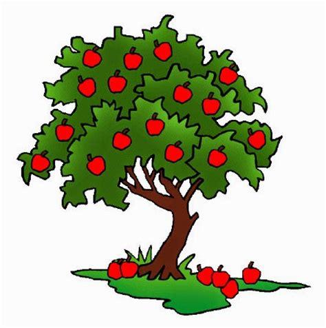 gambar kartun pohon clipart best