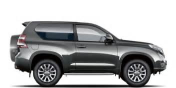 Toyota Suv List New Toyota Land Cruiser 3 Door Suv Car Configurator And