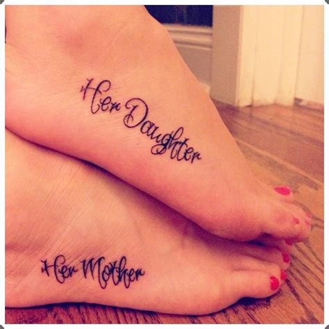 mother daughter tattoo ideas 50 truly touching designs