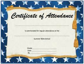 free attendance certificate template attendance certificate format microsoft word templates