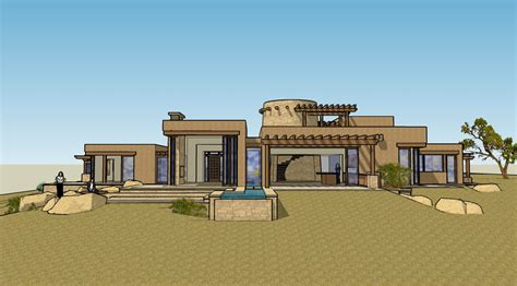 Open Floor House Plans With Photos adobe taos new mexico