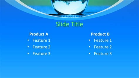 Free Liquid Drop Powerpoint Template Free Powerpoint Templates Microsoft Office Powerpoint Templates Water