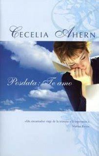 libro pdf pd te amo de cecilia arhen posdata te amo escribir por escribir
