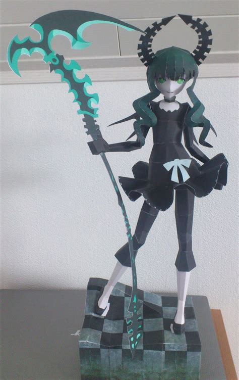 Black Rock Shooter Papercraft - black rock shooter dead master papercraft by