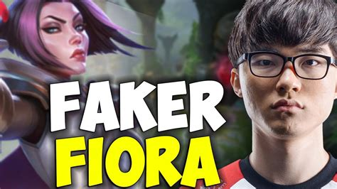 fiora counterpick faker wants to counterpick zed with fiora mid in