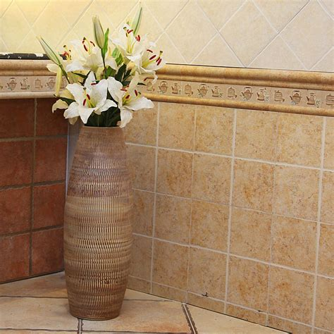 ceramic fashion modern large floor vase home decoration