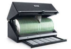 Cd Storage System 120 Auto Cd Storage Box Sharper Image