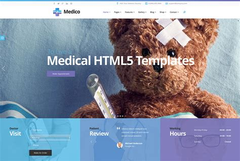 22 Best Medical Website Templates 2019 Colorlib Best Html Templates 2017