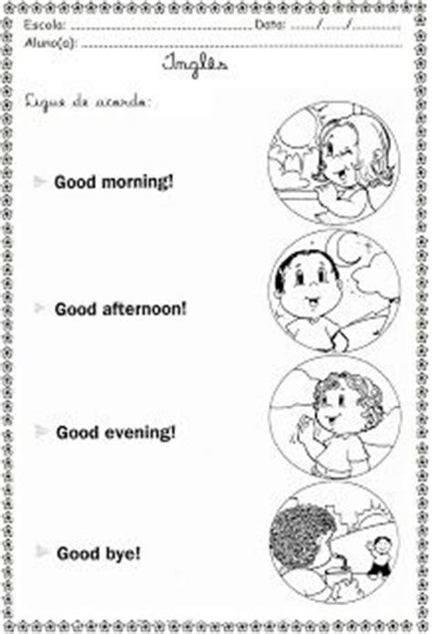 imagenes de good morning para niños para colorear atividades de ingl 234 s greetings sauda 231 245 es ingl 234 s