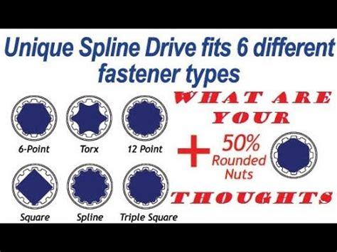 Vs 12 Tx 6 point vs 12 point vs spline drive