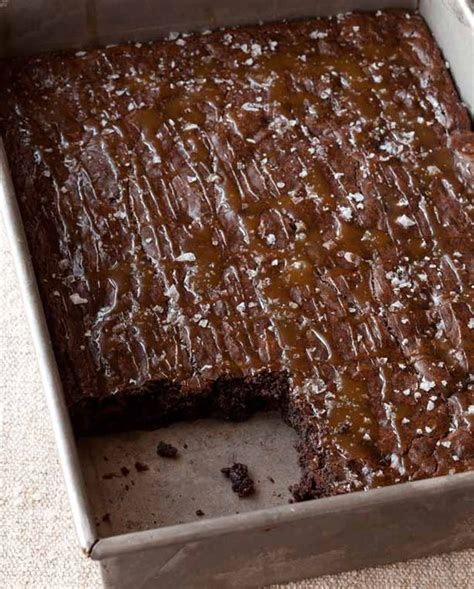 ina garten brownies salted caramel brownies caramel brownies and salted