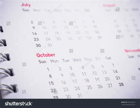 new year dates months dates on calendar new year stock photo 609230222