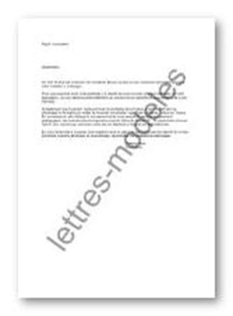 Modèle De Lettre Pour Une Administration exemple de lettre de remerciement pour une nomination