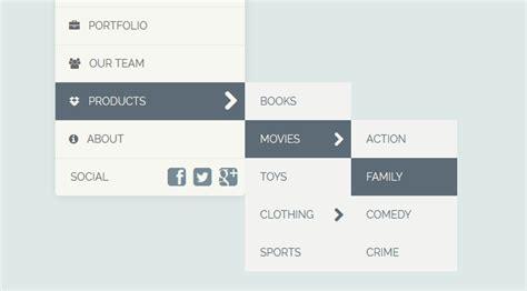 responsive design vertical menu tako vertical responsive dropdown menu by ysbdesign