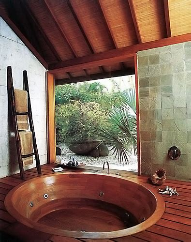Traditional Japanese Bathtub by Traditional Japanese Wood Baths West Wind Hardwood