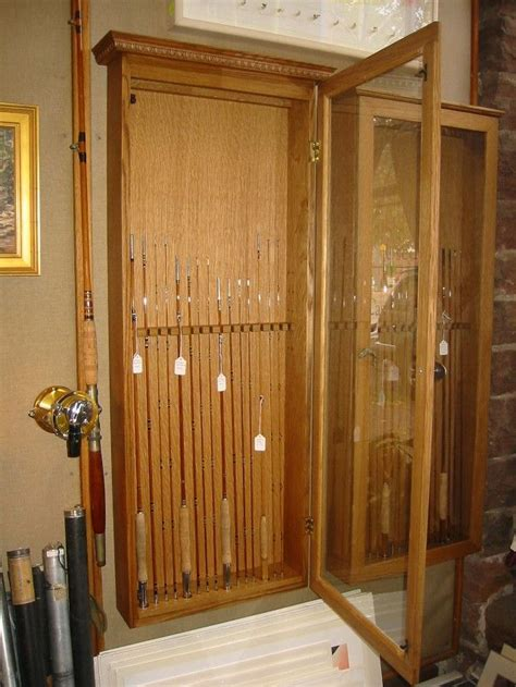 fishing rod storage cabinet 25 creative fishing rod rack ideas to discover and try on