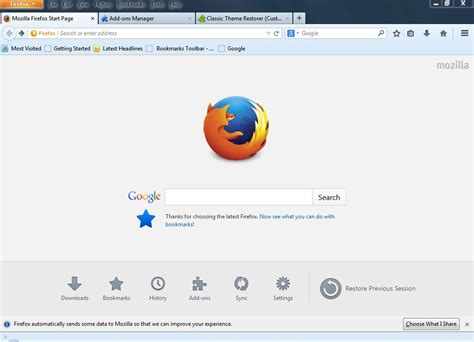 firefox themes orange how to return firefox back to how it used to look before