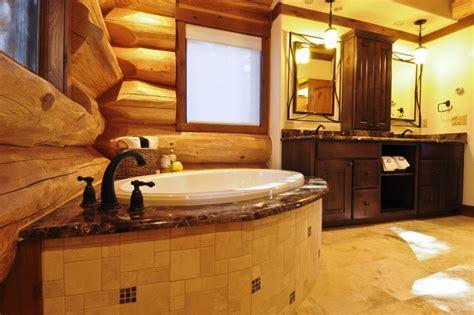 log bathroom bear creek cabin bathroom denver by mountain log