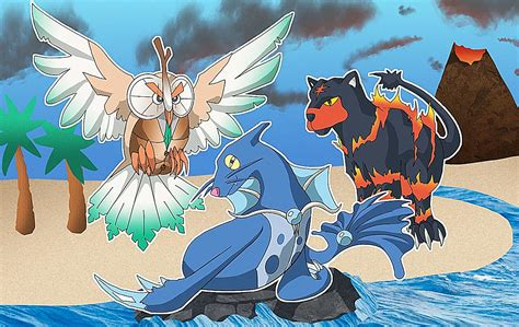 These fan made Pokemon Sun and Moon starter evolutions will put a Pop plio in your step
