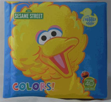 sesame street bathroom amazon com sesame street big bird quot colors quot bath time