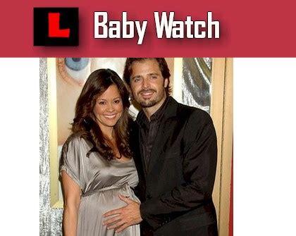 Burke Gives Birth To by Burke Baby Birth Boy David Charvet Boy