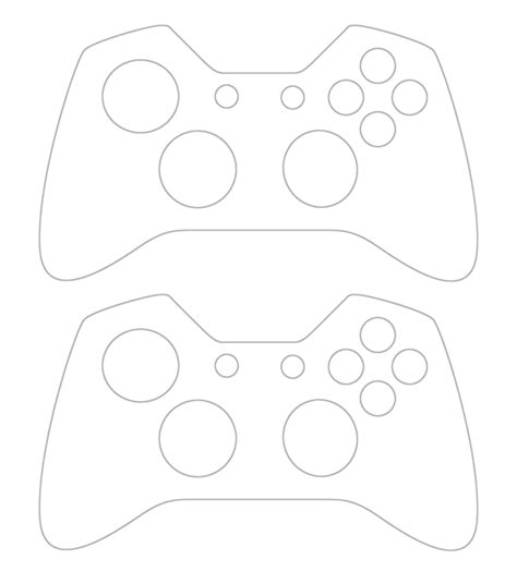 Xbox Controller Skin Template personalised xbox one controller skin