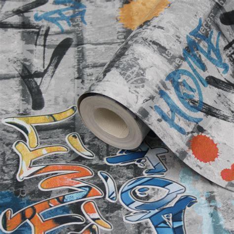 Lutece Street Art Graffiti Wallpaper   Clearance   DIY at B&Q