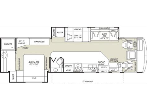 Fleetwood Bounder Floor Plans | floor plans fleetwood bounder autos post