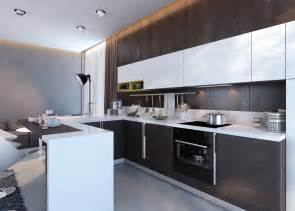 Kitchen Unit Design by Wenge Kitchen Units Interior Design Ideas