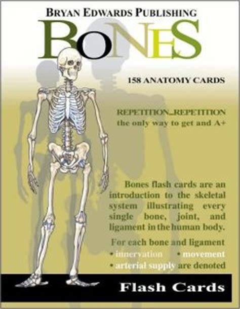 the staff of and bone books bones flash cards flash anatomy card series edition 1