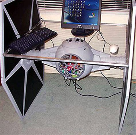 star wars desk tie fighter computer desk mr daz