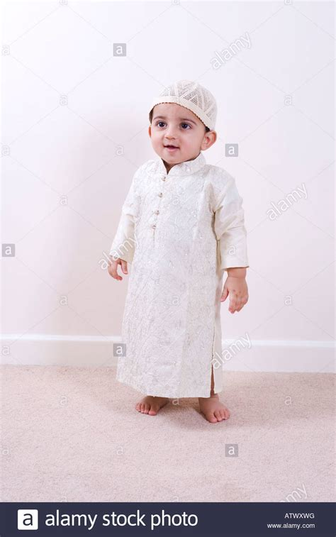 one year old baby boy portrait stock photo thinkstock one year old arabic boy wearing traditional islamic outfit