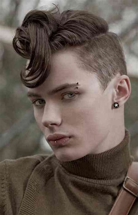 boys hair at the ears 70 boys face piercing looks that will turn heads