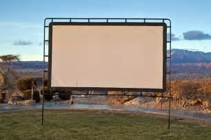 backyard projector screen image gallery outdoor projector screen