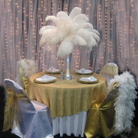 17 best images about ostrich feather centerpieces on