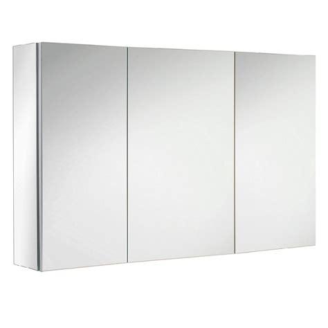 armoires de toilette sanijura armoire de toilette box 110cm 3 portes miroir
