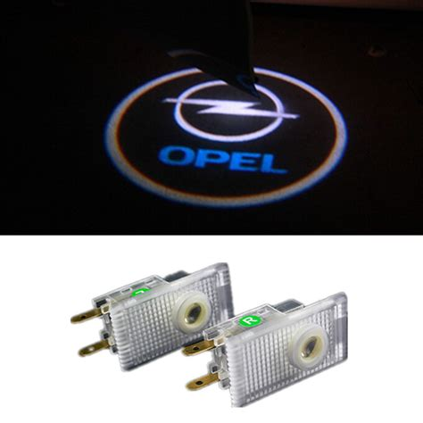 decorative door emblem buy led door warning light for opel logo projector astra h