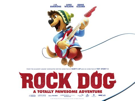 rock dog movie posters from movie poster shop rock dog 1 of 16 extra large movie poster image imp awards