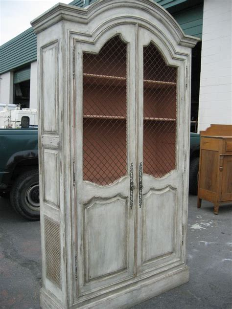 distressed armoires white distressed armoire armoires cabinets pinterest colors church and paint