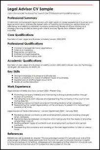 Curriculum Vitae For Court by Legal Advisor Cv Sample Myperfectcv