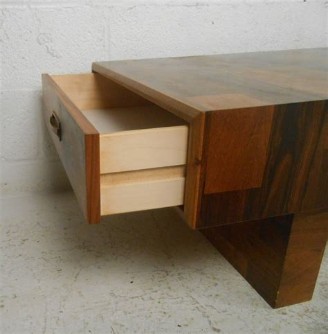 two drawer modern coffee table at 1stdibs