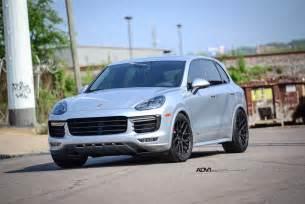 Porsche Gts Cayenne Porsche Cayenne Gts Adv7 M V1 Standard Texture Black