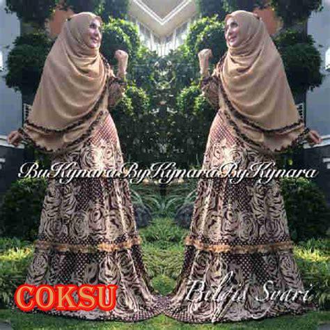 Baju Muslim Syari Queena bilqis syar i coksu baju muslim gamis modern