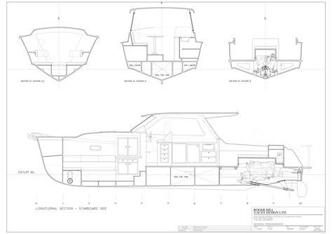 planing catamaran hull design roger hill yacht design catamaran yacht power sail